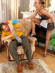 Nellie&Morris having naughty nylon sex