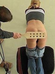 Isolation punishments � bruised buttocks