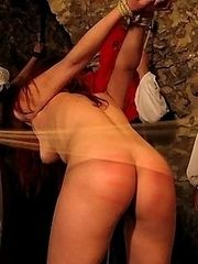 Young cuties spanked and humiliated in the dungeon