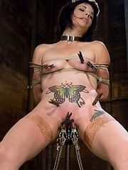 Felony made to squirt all over herself by Cherries