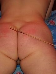 Strict Girlfriend Caning