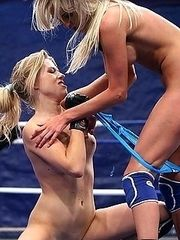 Lesbian in the ring