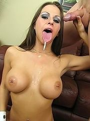 Rachel Roxxx gets throat fucked by huge cock