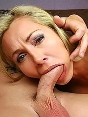 Lisa DeMarco gets a full facial