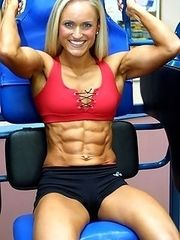 Female bodybuilding around the world.