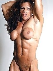 Muscular pretty girls.