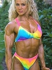 Women body builders and athletes dressed or not ?