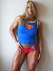 Female bodybuilder fantasy.