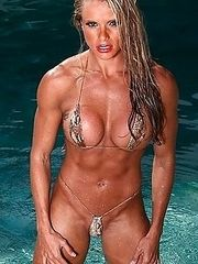 Muscular female body - most beautiful.