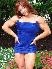 The mystery of muscular women.