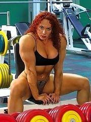 We Love Muscular Women.