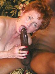 HOT Granny turns into a WHORE during a PRATY