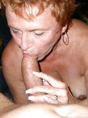 Hot Granny using all three wet holes!