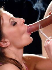 Denice K smoking sex