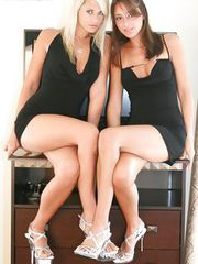 Black Dresses with Anna Angel