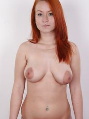 Guys,I bluntly warn you! If you watch this video,you039re fucked. So I am. Tereza is mind-blowing. She= s a goddess! Stunning gingerheads are my weak point. They039re extremely hard to find. And Tereza039s figure is absolutely lovely,her ass looks like a