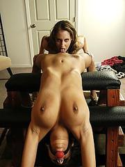 Orgasms galleries Bondage