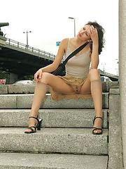 Upskirt collection pics